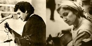 Víctor Jara y Violeta Parra Impulsores de la Nueva Canción