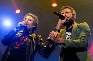 Carlos Tarque y Miguel Ríos - Roto por dentro (Foto: LTINews)