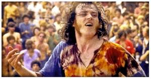 Joe Cocker en Woodstock, en 1969
