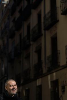 Roberto Enríquez  (Foto La Espuma de los días – J.S.Gutiérrez)