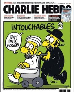 """Un """"Charlie"""" español ilustraría esta portada con banqueros, políticos, multinacionales, cardenales, reyes, etc. etc. etc. pero puede más un plato de lentejas."""