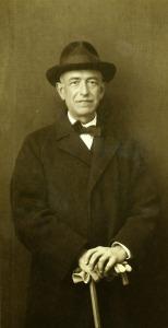 Manuel de Fallla en 1914