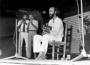 Krahe, Sabina y Alberto Pérez en Málaga - 1981 (Foto: elperiodico.com - Fco. Acedo)