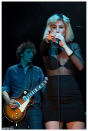 José Funko y Aurora García (Foto La Espuma de los Días - Helena)